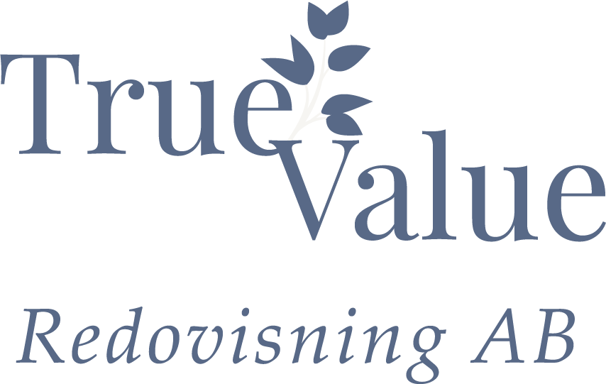 True Value Redovisning Logotyp