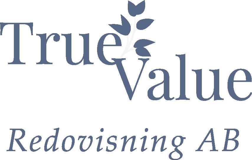 True Value Redovisning Logotyp